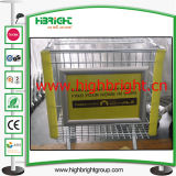 Display Board Advertising Board for Supermarket Trolley Carts