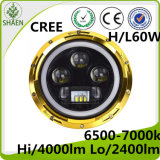 America Hot Selling 60W 7inch Round LED Headlight for Jeep