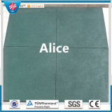Commercial Outdoor Rubber Tile/Recycle Rubber Tile/Interlocking Rubber Tiles