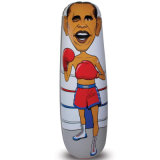 2D Cheaper Kids Toy PVC or TPU Inflatable Mini Punching Bag