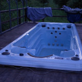 5.8m Outdoor Used Fiberglass Rectangular Massage Low Cost Swimming Pool for Sale (SR870)