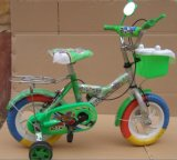 with Side Wheels Kids Bicycle