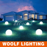 Meadow Lawn Decoration Colorful LED Ball Lighting