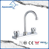 "Two ABS Handle 8"" Plate Kitchen Faucet (AF8047-5)"