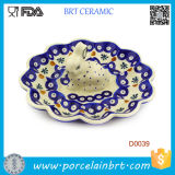 Cute Rabbit Wanderful Ceramic Egg Serving Plate
