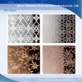Decoration Plate Etching Stainless Steel Plate