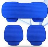 Auto Parts Blue Genuine Leather Car Seat Cover, Car Seat Cushion