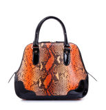 Good Quality Cheap Price Python Print Leather Women Bag