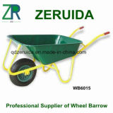 for European Countries Metal Tray Wheelbarrow