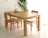 Solid Wooden Dining Table Living Room Furniture (M-X2434)