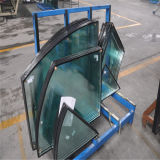 Round/Square Toughened/Tempered Clear Insulated Glass for Building Glass