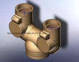 ISO9001 Certified Brass Forged Y-Fitting (AV4066)
