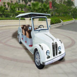White 8 Seaters Electric Classic Sightseeing Car for Sale