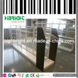 Supermarket Wire Grid Wall Display Shelving