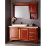 Oppein Antique Solid Wood Waterproof Bathroom Cabinets
