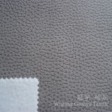 Suede Nap Polyester Leather Fabric with Embossed Treatment