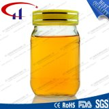 Kitchenware Storage Glass Jar with Metal Lid (CHJ8385)