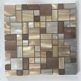 New Preminum Copper Resin Metal Stainless Steel Backsplash Tile Mosaic