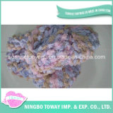 Wool Weaving High Strength Loop Cotton Fancy Yarn
