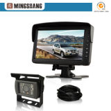 7 Inches Rearview Camera System with Trailer Cable Kit for Lorry/Coach Bus