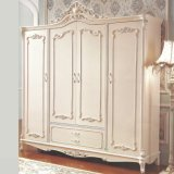 Wood Wardrobe and Chest Cabinet for Bedroom Furniture