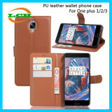 Flip Wallet PU Leather Phone Cases for One Plus 1/2/3