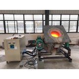 China Cabinet Steel Scrap Induction Melting Furnace for Sale