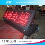 P10 Red Color Outdoor Moving LED Message Sign