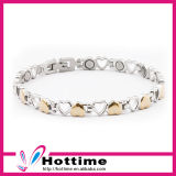 Fashion Jewelry Wholesale Stainless Steel Magnetic Bracelet for Lady