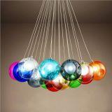 Multi Color Glass Pendant Lights New Chandelier (GD-C001-19)