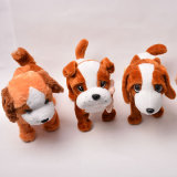 Perfect Child Toy Lovely and Soft Stuffed Plush Lying Dog Toy with High Qualtiy