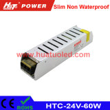 24V-60W Constant Voltage Slim Non Waterproof LED Power Supply