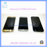 Mobile Cell Phone LCD for Samsung Galaxy S7 G9300 G930f Touch Screen with Frame