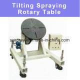 Tilting Spraying Servo Motor Multiple Workplace Rotary Table for Thermal Hvof / Plasma Spraying Coating Painting Glazing