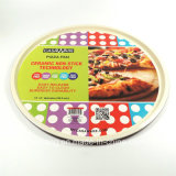 Large Red Pizza Baking Pan Carbon Steel Non-Stick Bakeware