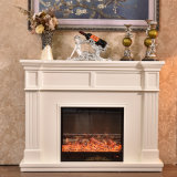 Factory Wholesale Wooden Electric Fireplace Mantel (GSP15-003)