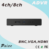 4CH/8CH Fribrid H. 264 4MP Lite 1HDD Analog Digital Video Recorder {Advr-T7404L/T7408L}