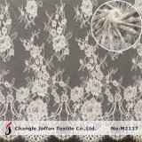 Textile Swiss Voile Lace Fabric Bridal French Lace (M2137)