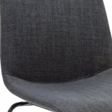 Fabric Metal Base Dining Chair Wt-6800
