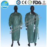 Heat-Sealing Stitiches Operation Gown, Surgical Gown