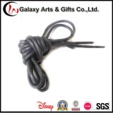 Polyester Waxing Leather Round Shoelace