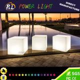Garden Furniture Remote Control LED Illuminated Cube