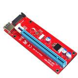 USB3.0 PCI-E Express 1X To16X Extender Riser Card Adapter SATA 15pin Power 60cm