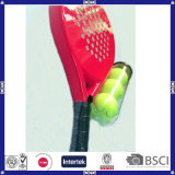 Btr-4005 Round Shape Customized Logo Paddle Ball Paddle Racket