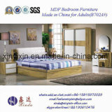 Hot Sale Wooden Bed Luxury Hotel Bedroom Furniture (702A#)