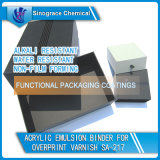 Detergent Resistant Acrylic Emulsion Binder for Overprint Varnish