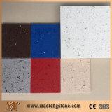 Direct Factory Manufacturer White Mirror Fleck Quartz Stone