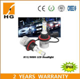 High Quality 4000lm H4 LED Headlight Bulb with Fan Heat Dissipation Design