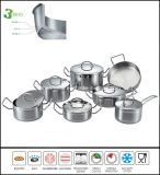 Kitchenware 3ply Body Cookware Set
