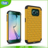 Cell Phone Accesories PC Silicon Diamond Cover Case for Samsung Galaxy S6 Edge